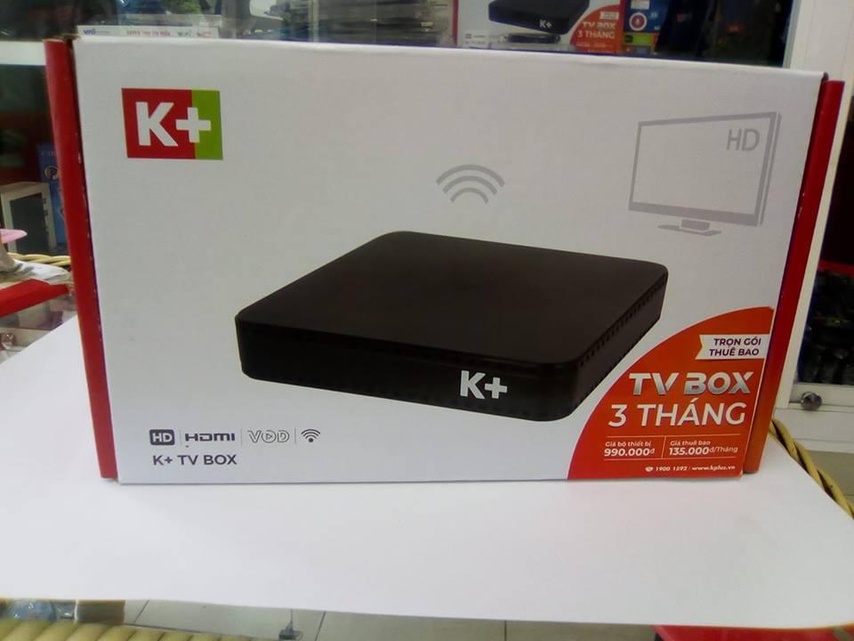 đầu box K+ ( sử dụng mạng wifi )