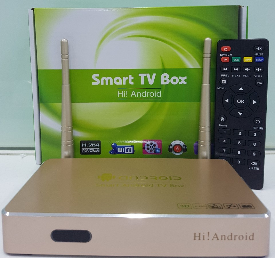 HI-Tech Android TV Box 4K