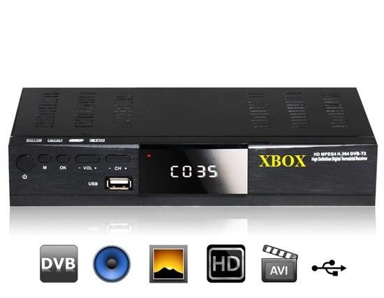 Đầu thu KTS mặt đất DVBT2 XBOX