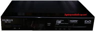 Đầu thu KTS vệ tinh Humax HD02 ( không kèm theo phụ kiện )