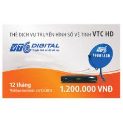 Thẻ Cào Gia Hạn VTC Gói HD (12 Tháng)
