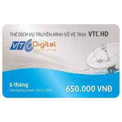 Thẻ Cào Gia Hạn VTC Gói HD (6 Tháng)