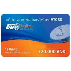 Thẻ Cào Gia Hạn VTC Gói SD (12 Tháng)