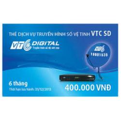 Thẻ Cào Gia Hạn VTC Gói SD (6 Tháng)
