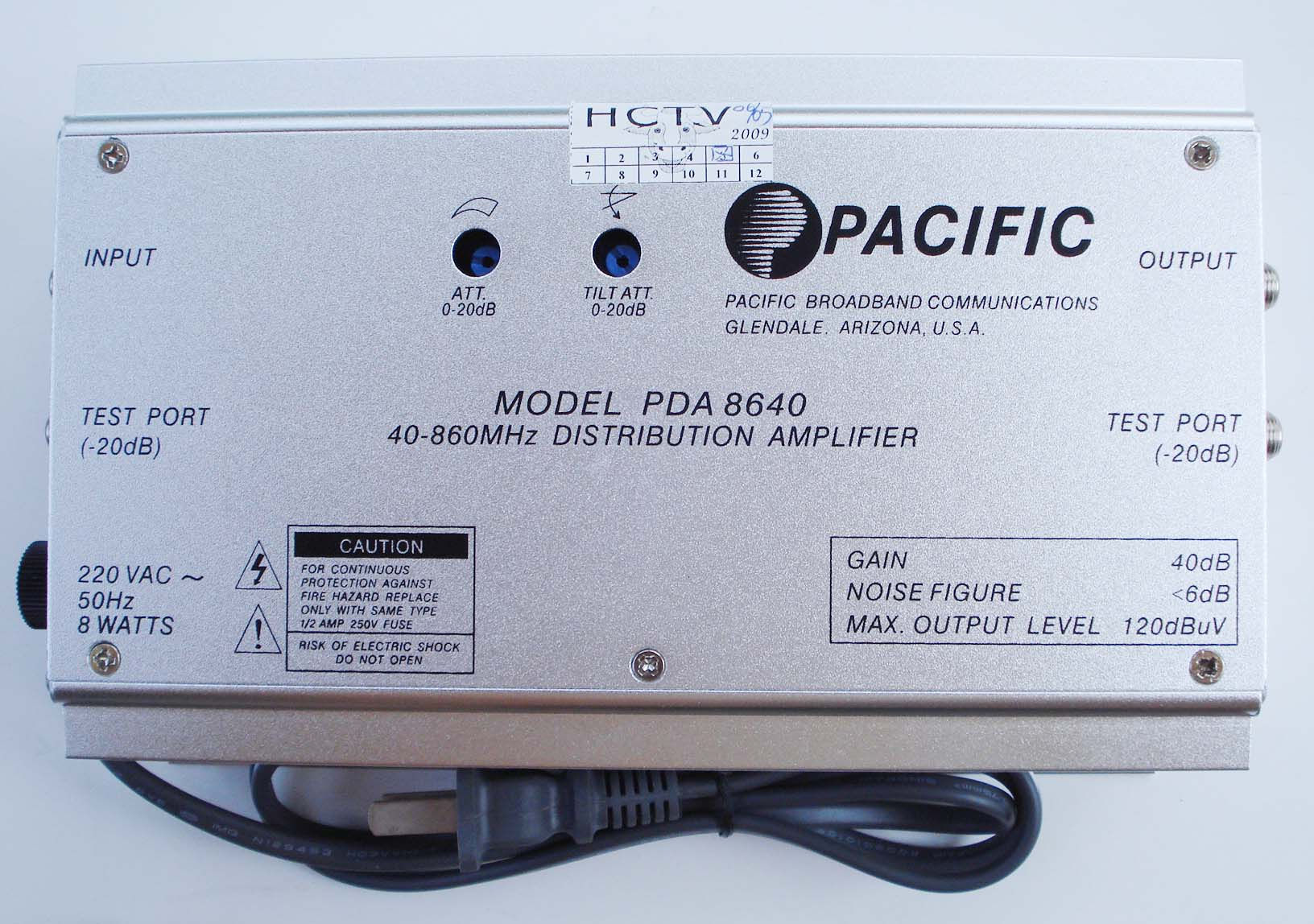 KĐC PDA8640