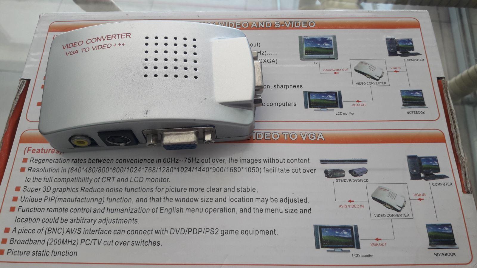Bộ VGA ra VGA+AV