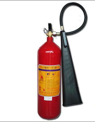 Bình chữa cháy ( khí CO2 ) loại 3kg