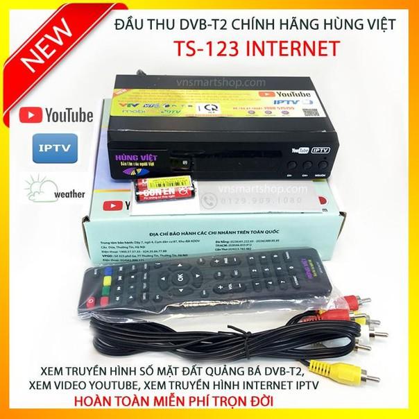 Đầu thu mặt đất Hùng Việt DVB T2 ( wifi )
