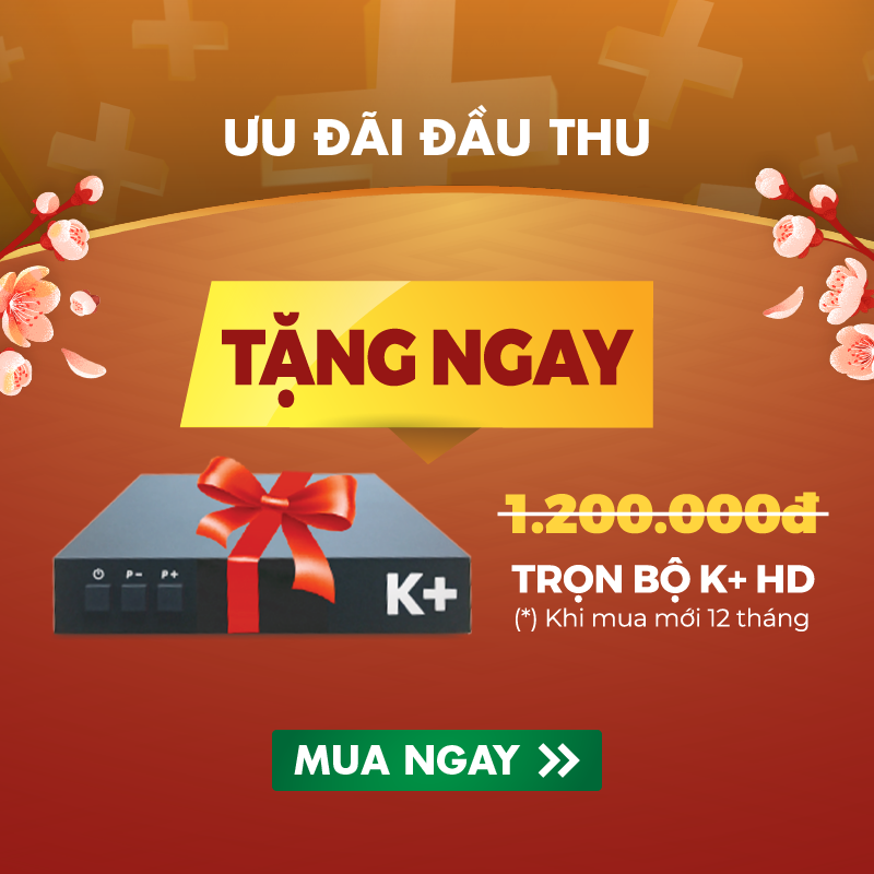 Bộ truyền hình K+ Gói Premium