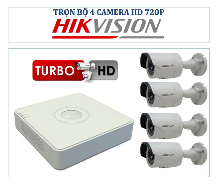 Turbo 4 camera Hikvision